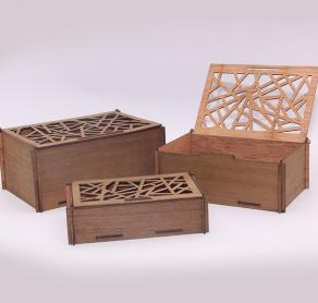 Up-cycled Wood Gift Boxes