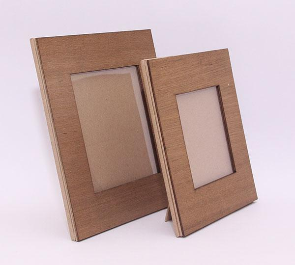 Up-cycled Wood Photo Frames