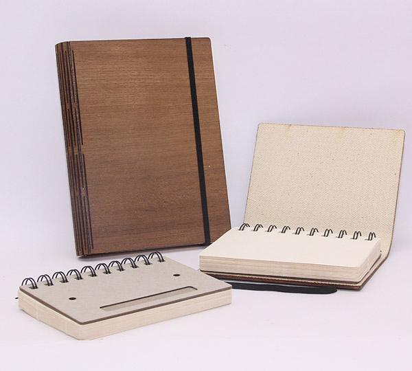 Up-cycled Wood Notebooks